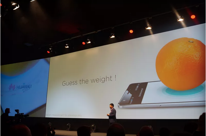 Huawei Beats Apple In Announcing A Phone That Weighs Objects With Force Touch