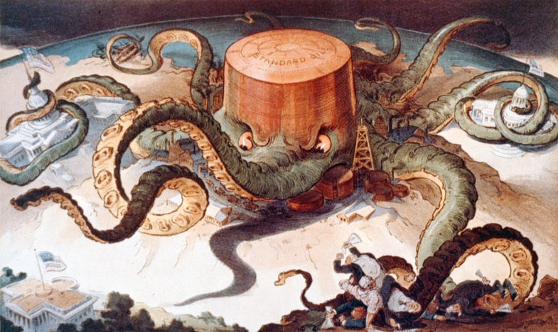 A Brief History Of Octopi Taking Over The World