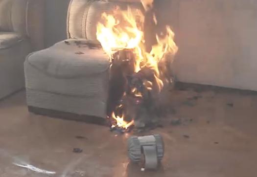 Tiny Fire Spy Recon Bot Lets Firefighters See Inside The Blaze