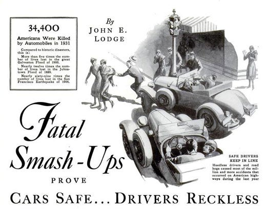 Who's to Blame for Car Accidents?: May 1932