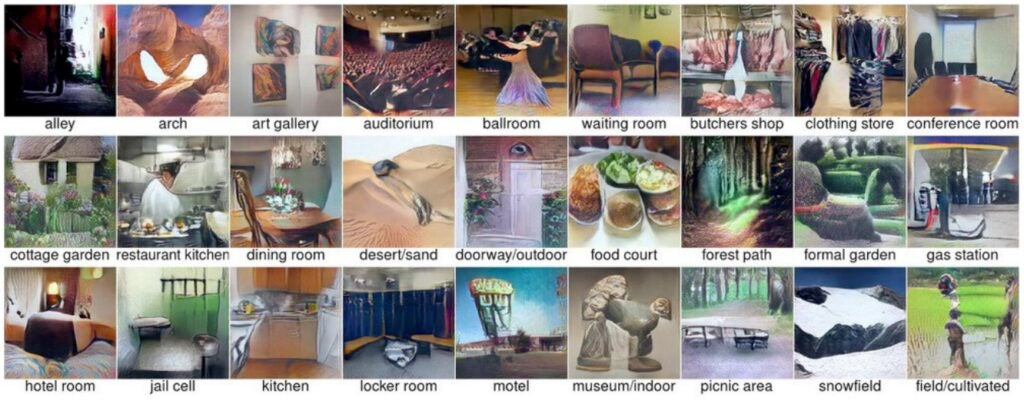 Researchers set the deep neural network to generate images, rather than just classify them.