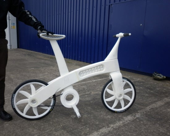 New Manufacturing Process Builds A Nylon Bike As Strong As Steel