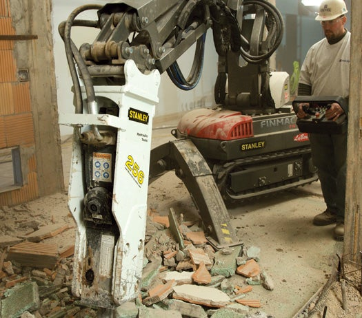 An Industrial-Grade Demolition Machine for Your Home