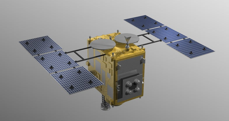A Spacecraft That Packs The Punch Of A Warhead