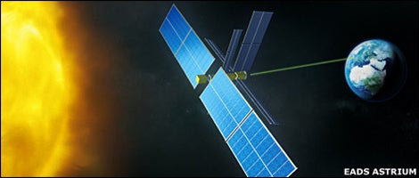EADS Astrium Plans to Put A Solar-Collecting Demo Satellite in Space