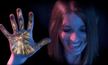 Disney Research created a fireworks display you can feel with your hands