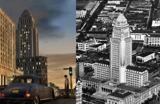 How L.A. Noire Rebuilt 1940s Los Angeles Using Vintage Extreme Aerial Photography