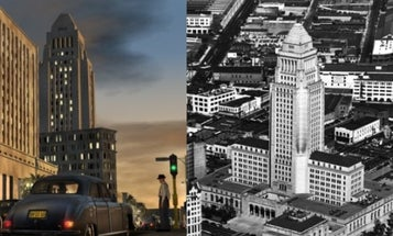 How L.A. Noire Rebuilt 1940s Los Angeles Using Vintage Extreme Aerial Photography
