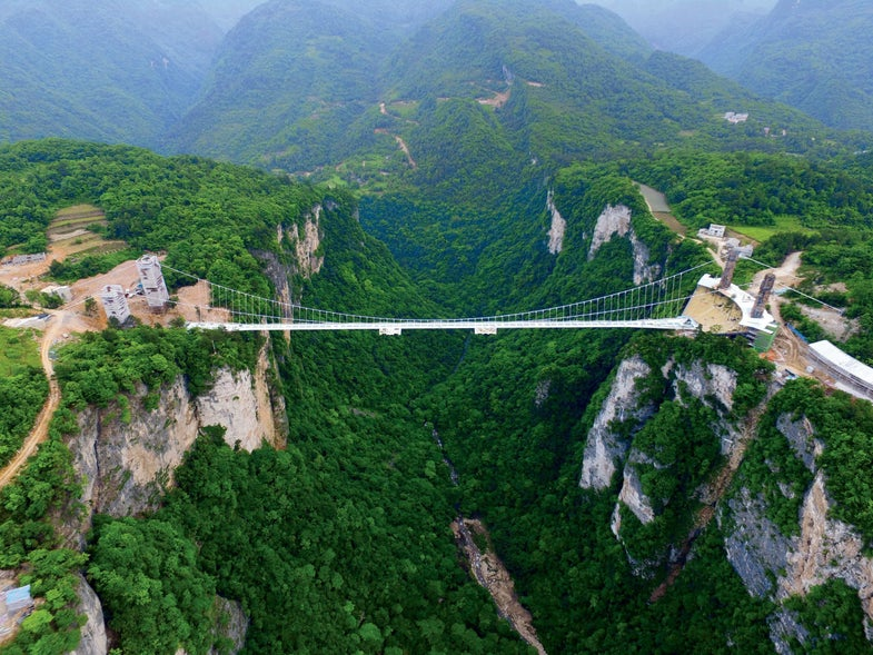 China Is Building The Longest And Highest Glass Bridge In The World