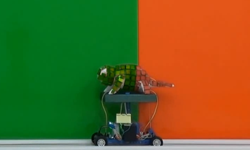 Watch An Artificial Chameleon Change Color