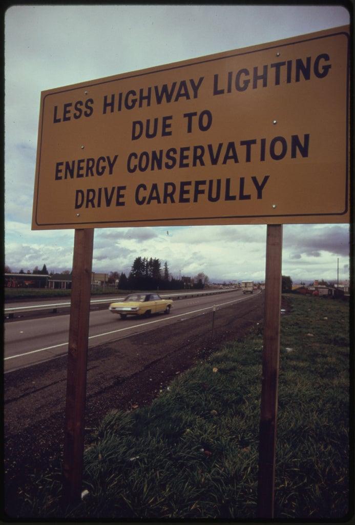 Less Highway Lights