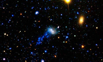 After Cosmic Collision, A Jellyfish Galaxy With Tentacles of Stars