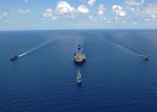 Navy Pledges Green Strike Group by 2012