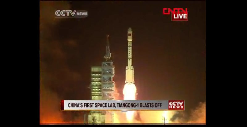 China Launches Its First Space Station Module Into Orbit