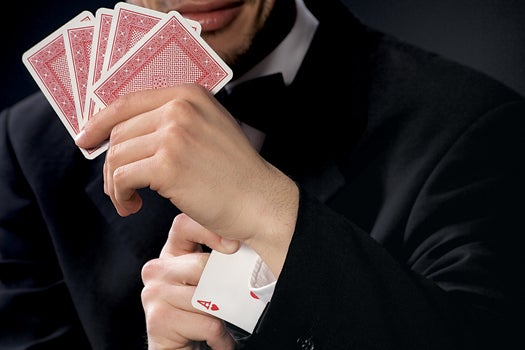 Spy vs. Spy: Casinos Can't See The Cameras Hidden Up Gamblers' Sleeves