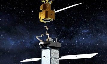 NASA's new satellite will circle the globe repairing broken space robots
