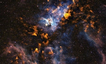 Pretty Space Pics: The Carina Nebula, Birthing Stars in Both Visible and Invisible Light