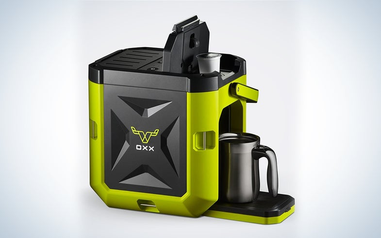 OXX Coffeeboxx Jobsite Heavy-Duty Single Serve Coffee Maker