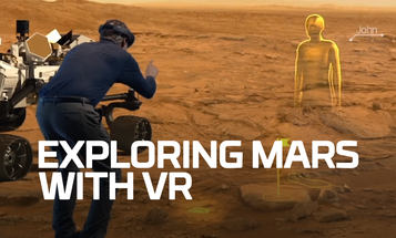 'Future First': Explore Mars With Virtual Reality