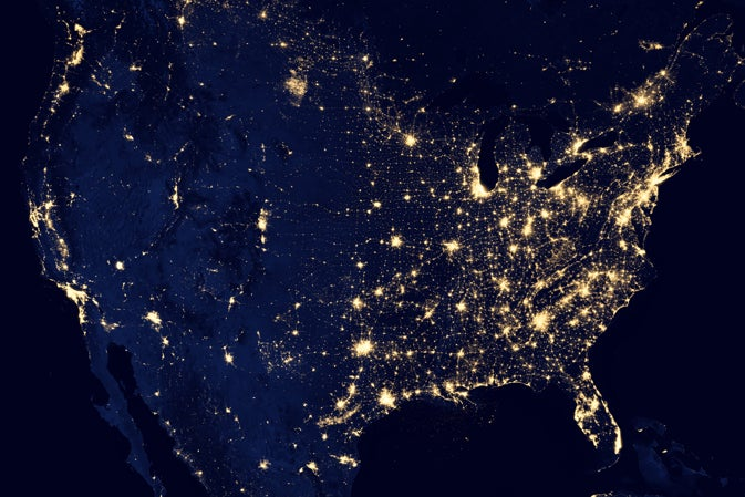 Beautiful 'Black Marble' Views Show Earth At Night Like Never Before