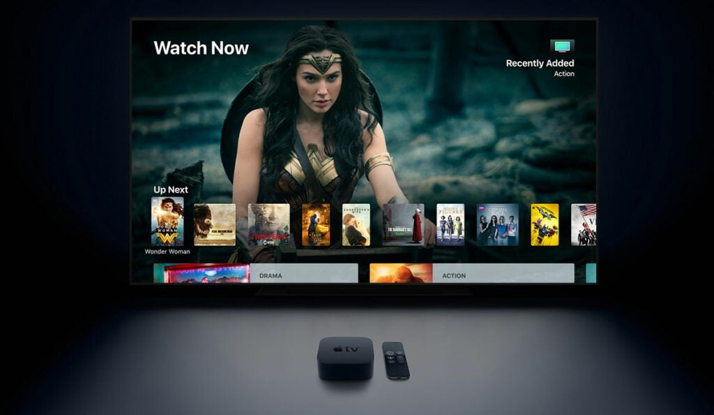 Apple TV 4K HDR content