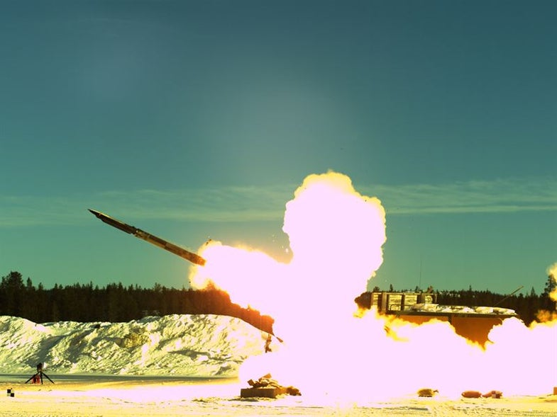 Boeing And Saab Give New Life (And New Bombs) To Aging Rockets