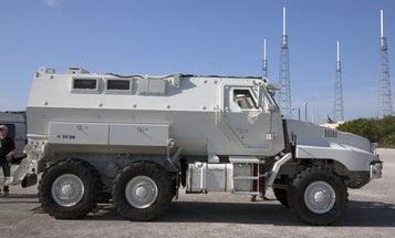 What Is NASA Doing With This Second-Hand Armored Car?