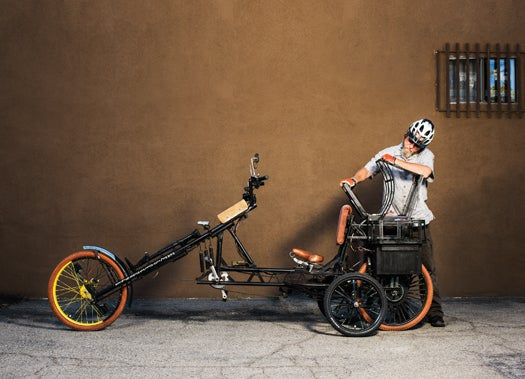 You Built What?!: An Electric-Assist Chopper-Style Bicycle