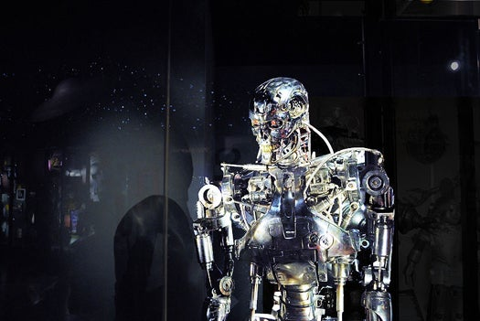 Swarms of Robot Soldiers Could Make Better Decisions Than Human Leaders on Data-Strewn Battlefields