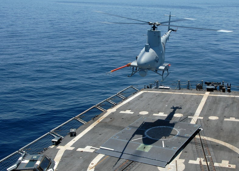 Video: Navy Helicopter Drone Makes First Coke Bust on the High Seas