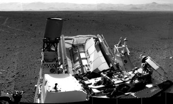 Mars Rover Curiosity Snaps a New 360-Degree Panoramic on its Way to Glenelg
