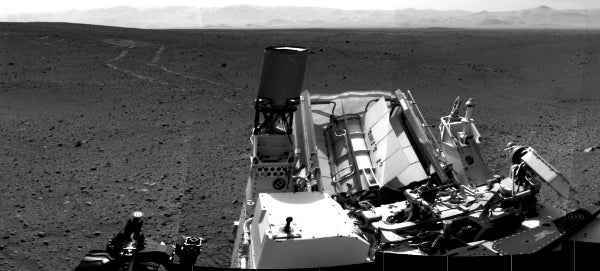 Curiosity: Trail Blazing