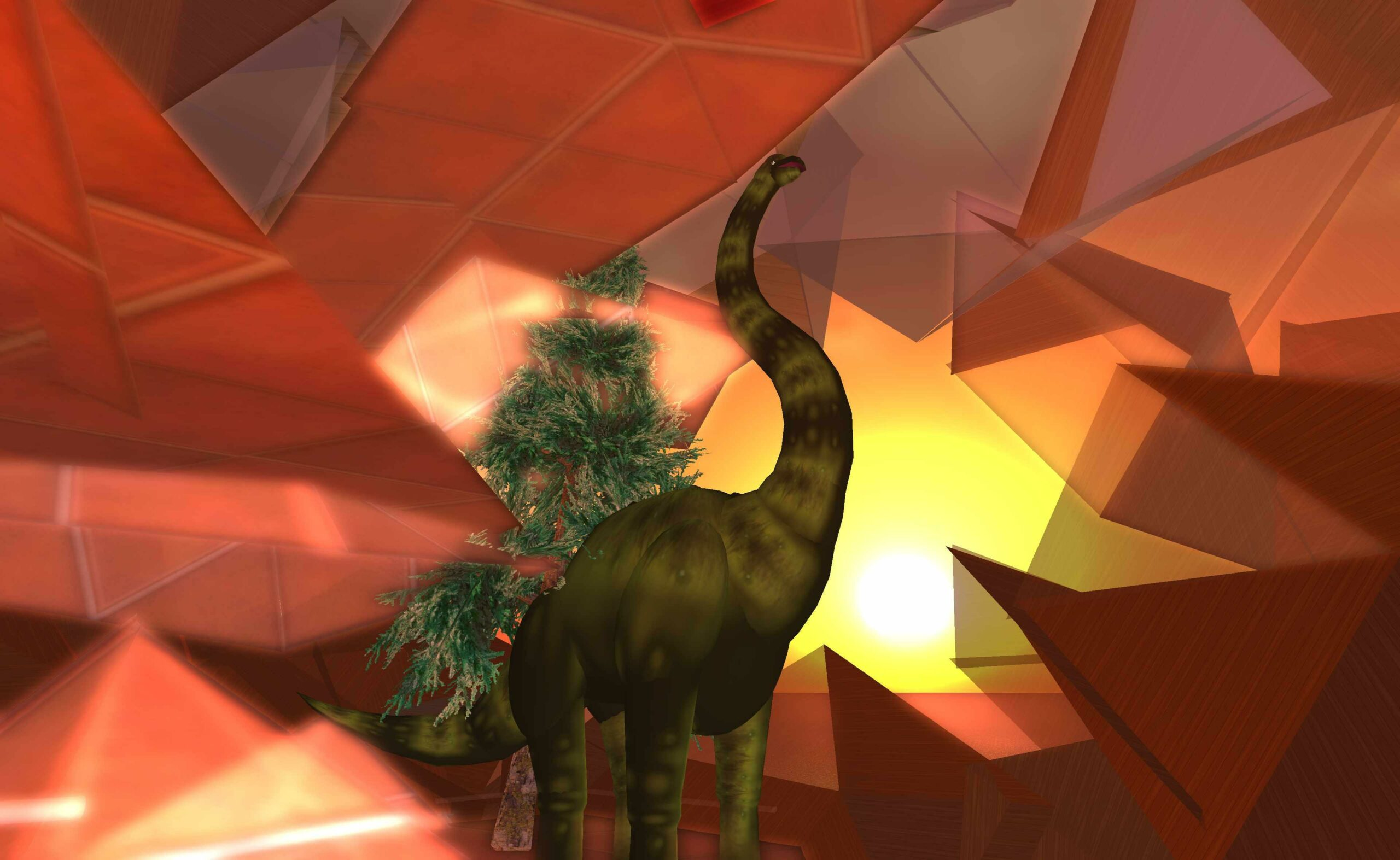 Dinosaurs Likely Ate Fungus Linked (Distantly) To LSD