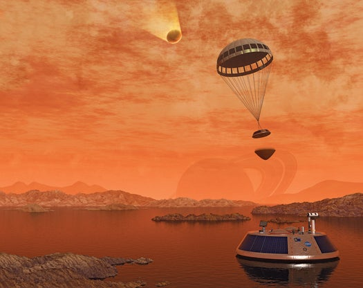 Space Boat: A Nautical Mission to an Alien Sea