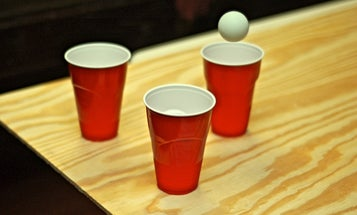 Yes, your beer pong cup is teeming with bacteria