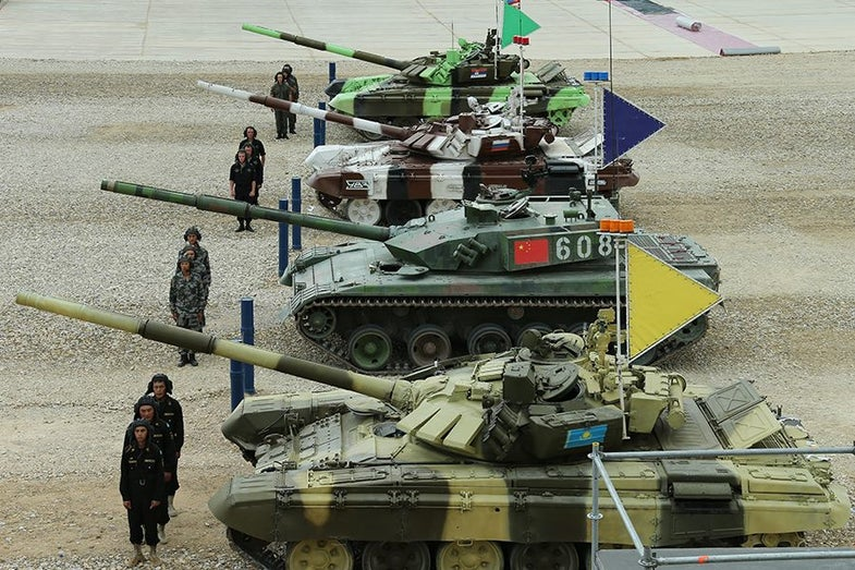 """""""Armored Olympics"""" International Army Games Result In Tank Fun, and Deployment Experience"""