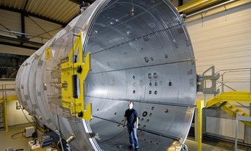 Germany Builds a 'Space Tunnel' for Testing the Ion Engines of the Future