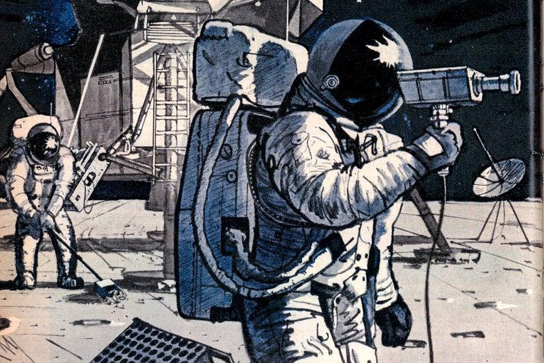 Here's our original coverage of Apollo 11