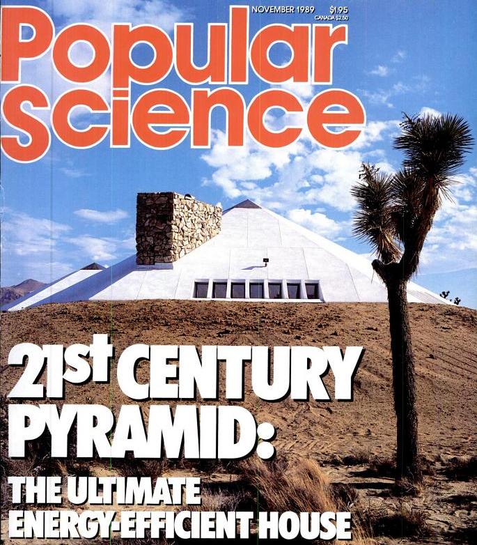 Throwback Thursday: Leaning Cars, A High-Tech Mojave Pyramid, And The Most 80s Tech Ever Built