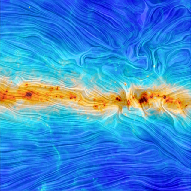 Our Galaxy's Magnetic Field, Revealed