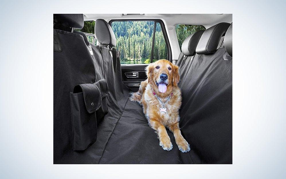 BarkBar Dog Hammock Car Cover
