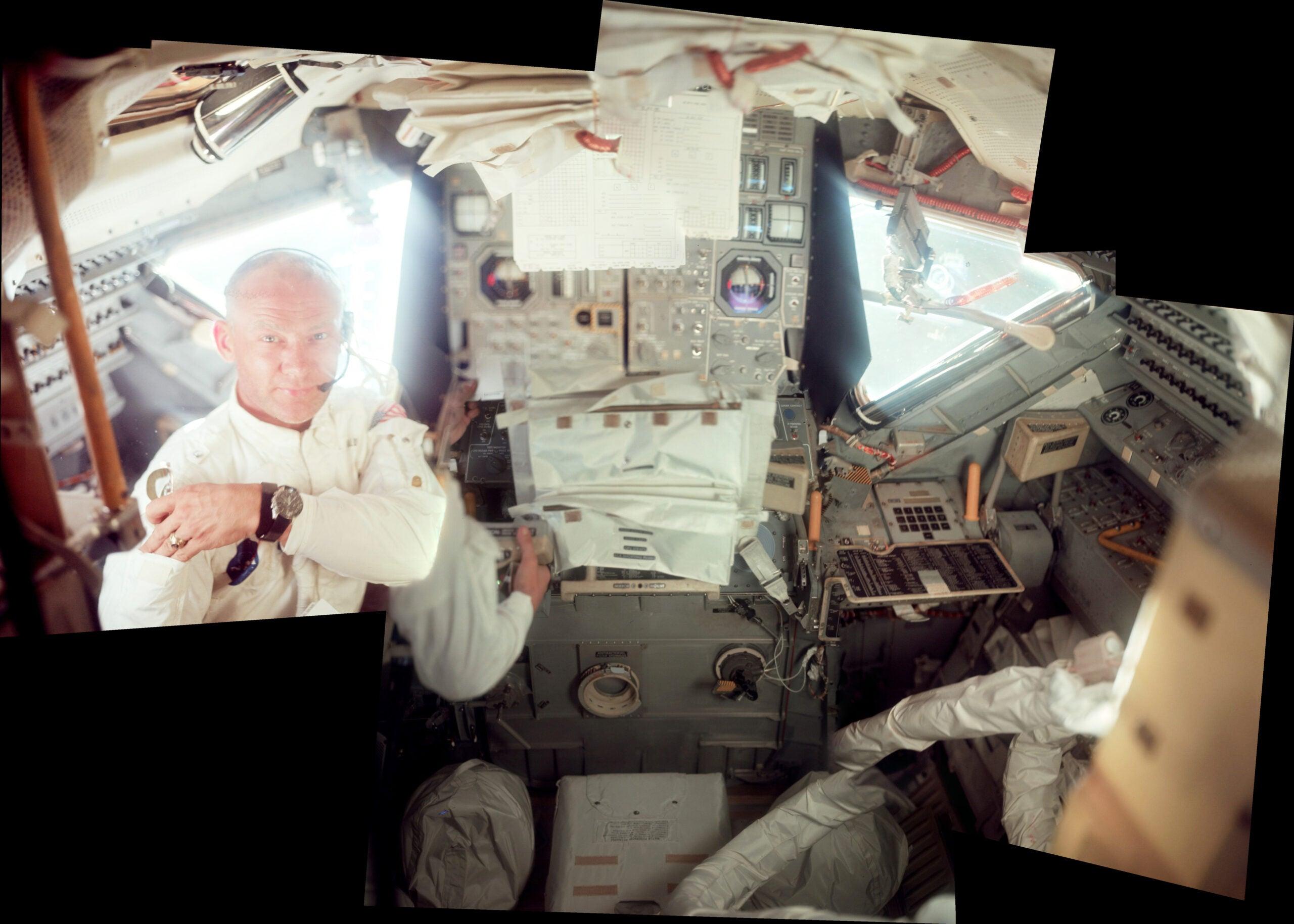 Seeing Inside The Apollo Lunar Module