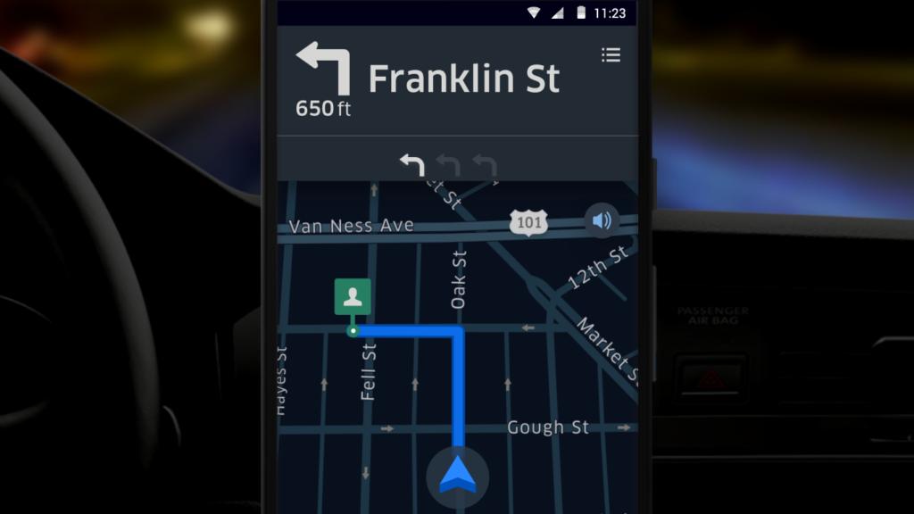 Uber Night Mode