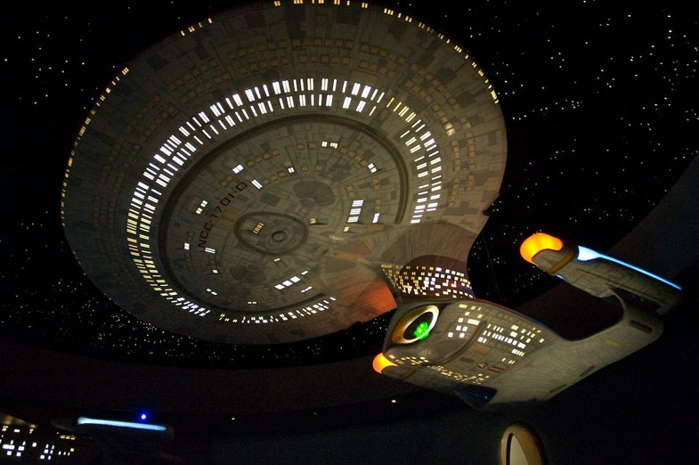 Stray Hydrogen Atoms Become Deadly for Starships Traveling At Light Speed