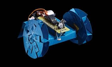 Fold A Paper Robot With An Arduino Brain