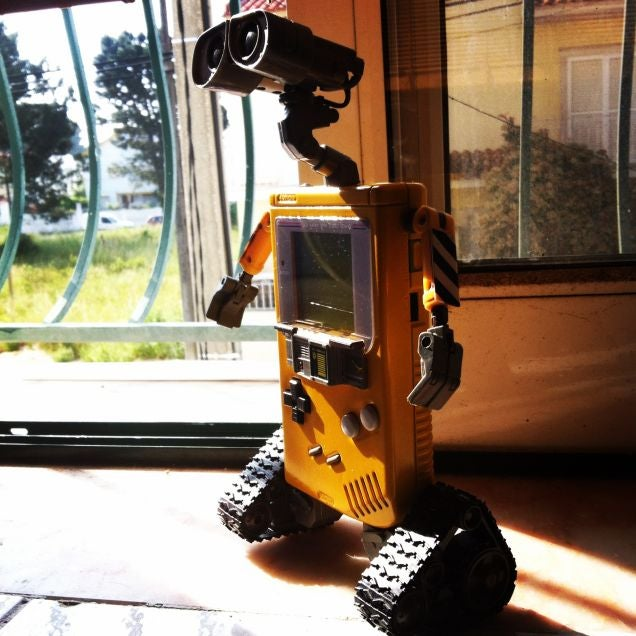 A Game Boy WALL-E And Other Amazing Images From This Week