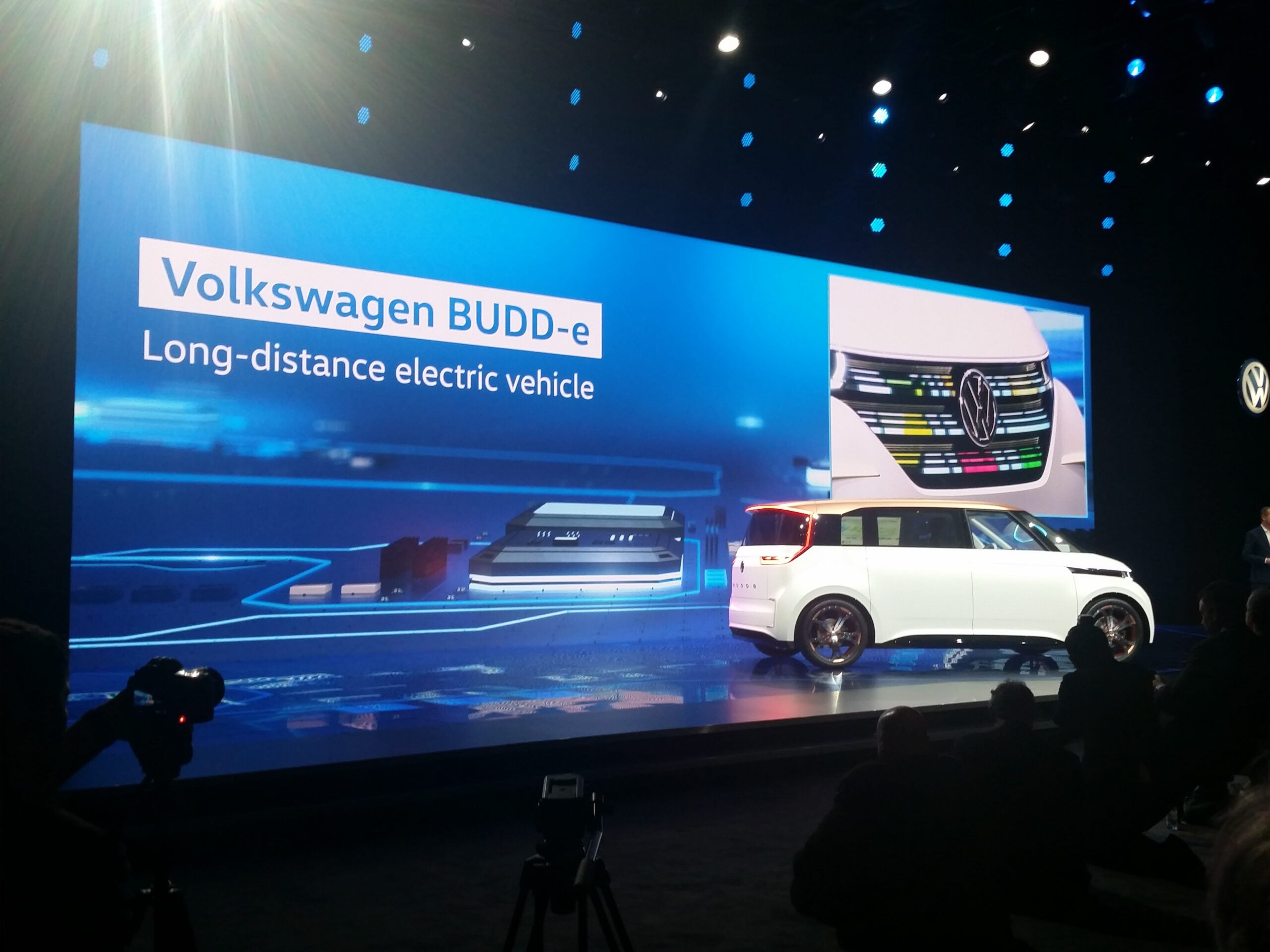 Volkswagen Wows the CES Crowd with BUDD-e Concept