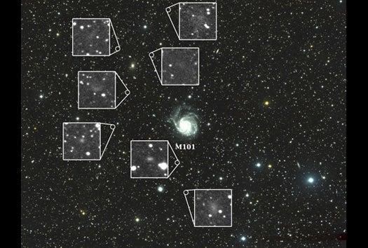 'Homemade' Telescope Spots Seven Dwarves in Space