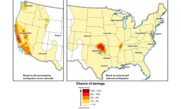 Man-made earthquakes will continue to shake the country