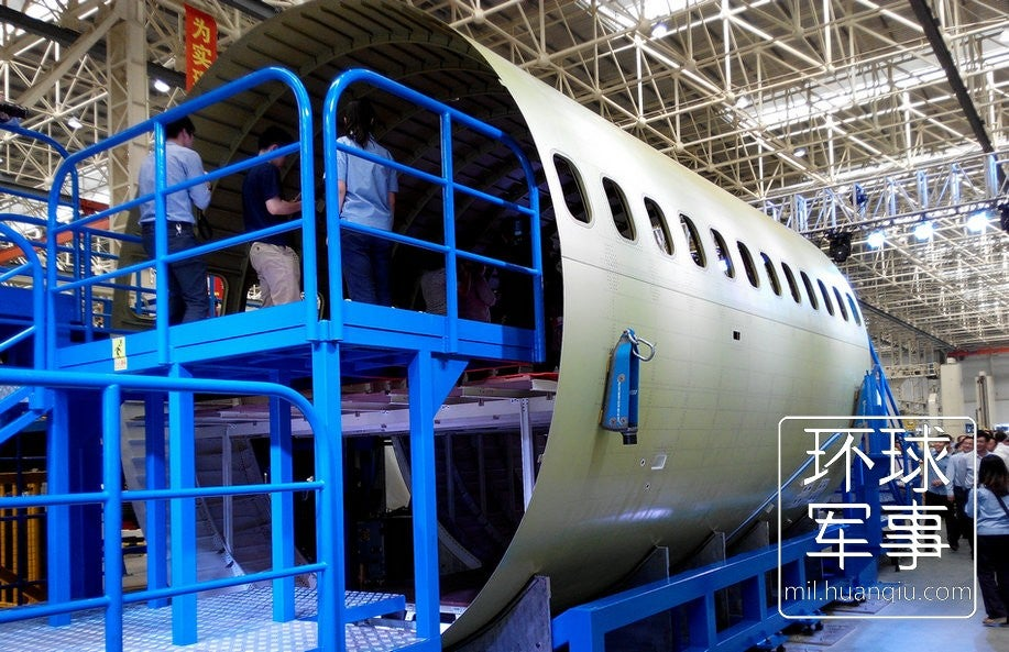 New Twin Engined Chinese Jet Liner C919 Moves Forward